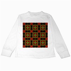 Cute Pattern Gifts Kids Long Sleeve T Shirts