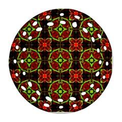 Cute Pattern Gifts Ornament (round Filigree)