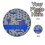 Christian Multi-purpose Cards (Round)  Front 45
