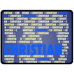 Christian Fleece Blanket (Large)