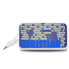 Christian Portable Speaker (white)