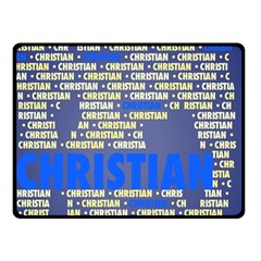 Christian Double Sided Fleece Blanket (Small)