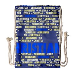 Christian Drawstring Bag (Large)