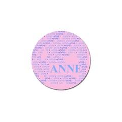 Anne Golf Ball Marker