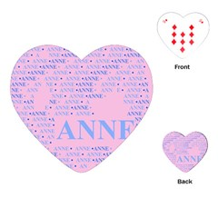 Anne Playing Cards (Heart)