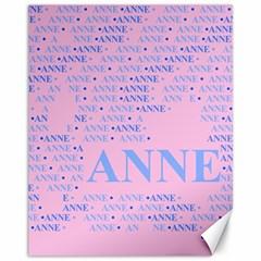 Anne Canvas 11  X 14