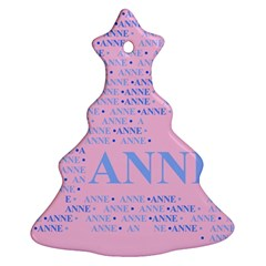 Anne Ornament (christmas Tree)