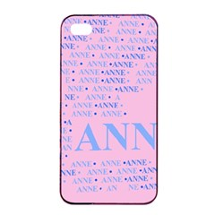Anne Apple Iphone 4/4s Seamless Case (black)