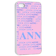 Anne Apple Iphone 4/4s Seamless Case (white)
