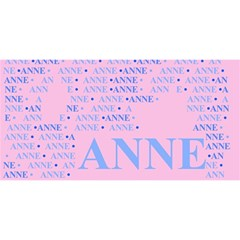 Anne You Are Invited 3d Greeting Card (8x4)