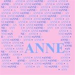 Anne BELIEVE 3D Greeting Card (8x4)  Inside