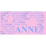 Anne BELIEVE 3D Greeting Card (8x4)  Back