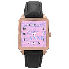 Anne Rose Gold Watches