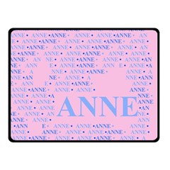 Anne Double Sided Fleece Blanket (Small)
