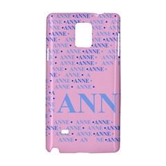 Anne Samsung Galaxy Note 4 Hardshell Case