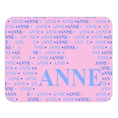 Anne Double Sided Flano Blanket (Large)