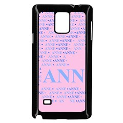 Anne Samsung Galaxy Note 4 Case (Black)