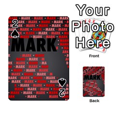 Mark Playing Cards 54 Designs