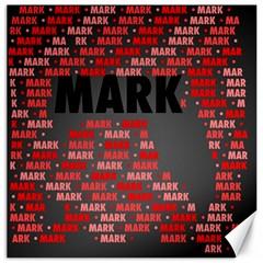 Mark Canvas 16  X 16