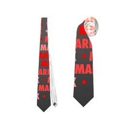 Mark Neckties (one Side)