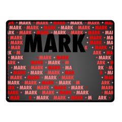 Mark Fleece Blanket (Small)
