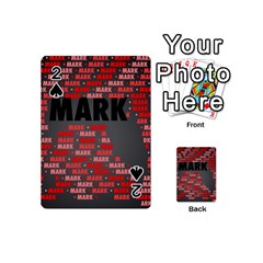 Mark Playing Cards 54 (Mini)