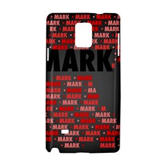 Mark Samsung Galaxy Note 4 Hardshell Case
