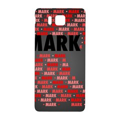 Mark Samsung Galaxy Alpha Hardshell Back Case
