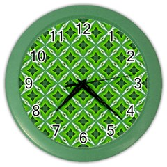 Cute Pattern Gifts Color Wall Clocks