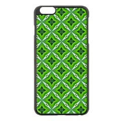 Cute Pattern Gifts Apple Iphone 6 Plus Black Enamel Case
