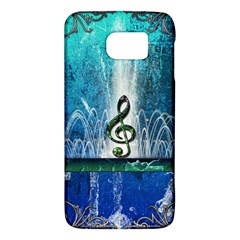 Clef With Water Splash And Floral Elements Galaxy S6