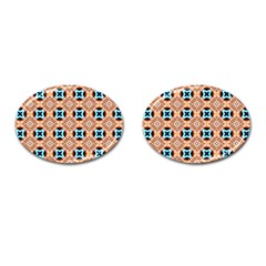 Cute Pattern Gifts Cufflinks (oval)