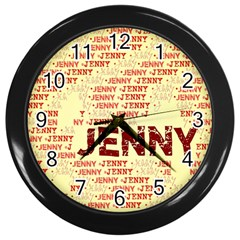 Jenny Wall Clocks (black)
