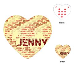 Jenny Playing Cards (heart)