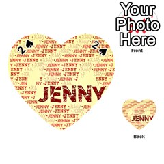 Jenny Playing Cards 54 (Heart)