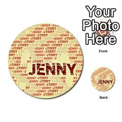 Jenny Multi-purpose Cards (Round)