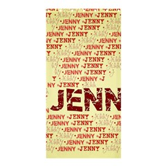 Jenny Shower Curtain 36  X 72  (stall)