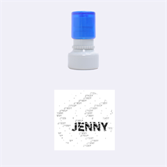 Jenny Rubber Round Stamps (small)