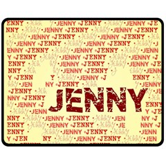 Jenny Double Sided Fleece Blanket (Medium)