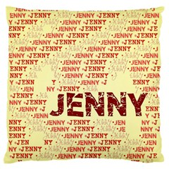 Jenny Standard Flano Cushion Cases (one Side)