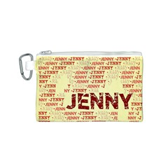 Jenny Canvas Cosmetic Bag (S)