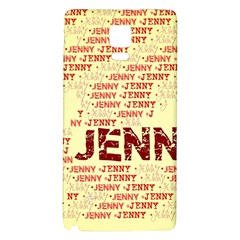Jenny Galaxy Note 4 Back Case