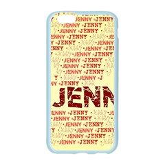 Jenny Apple Seamless iPhone 6 Case (Color)