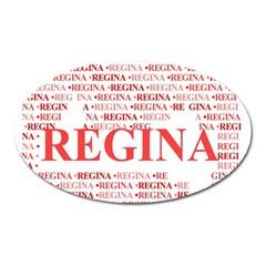 Regina Oval Magnet