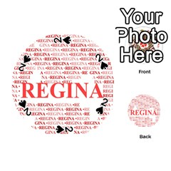 Regina Playing Cards 54 (round)