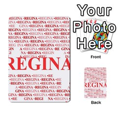 Regina Multi-purpose Cards (Rectangle)