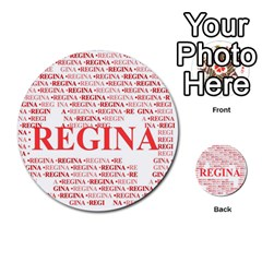 Regina Multi-purpose Cards (Round)