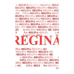 Regina Shower Curtain 48  x 72  (Small)