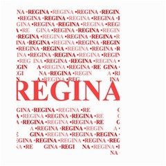 Regina Small Garden Flag (Two Sides)