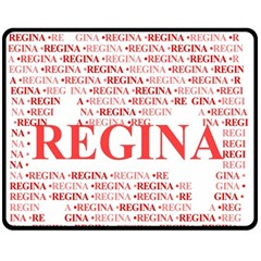 Regina Double Sided Fleece Blanket (Medium)